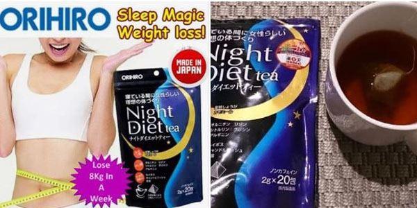 Trà giảm cân ban đêm