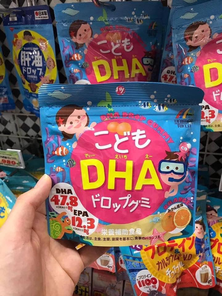Kẹo DHA cho trẻ