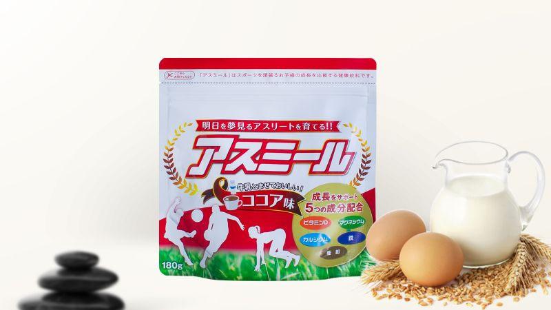 Sữa tăng trưởng chiều cao Asumiru giúp tăng cường sức khỏe tim mạch và xương cốt.