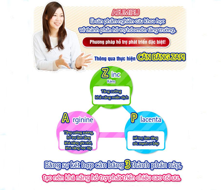 Phối hợp 3 loại canxi thiên nhiên phong phú: Canxi Casein, Canxi pantothenate, canxi tự nhiên