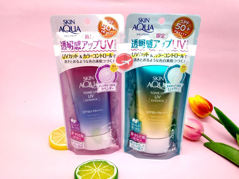Kem chống nắng Skin Aqua có 2 phiên bản