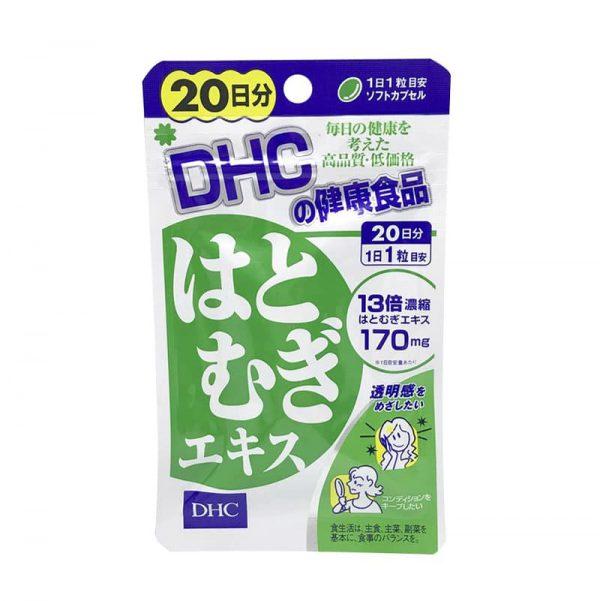 Viên uống trắng da DHC 20 ngày