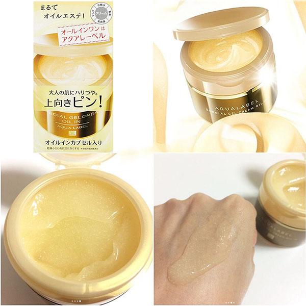 Kem dưỡng da chống lão hóa Shiseido Aqualabel là dòng dành cho độ tuổi trung niên. Nó giải quyết những vấn đề về da như là lão hoá, khô, nhăn, thiếu độ đàn hồi.