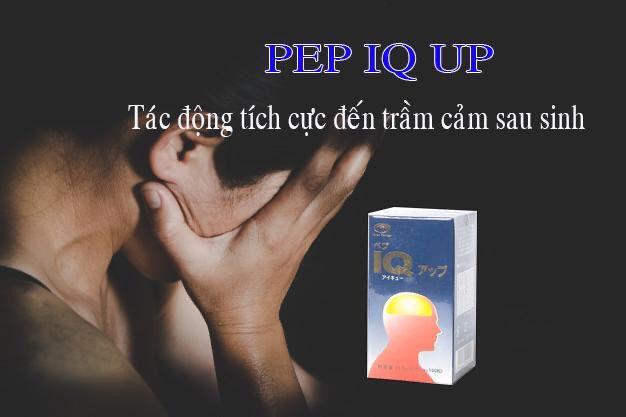 Viên uống bổ não PEP IQ UP nó còn giúp hỗ trợ cải thiện xương khớp, cải thiện chứng trầm cảm sau sinh.